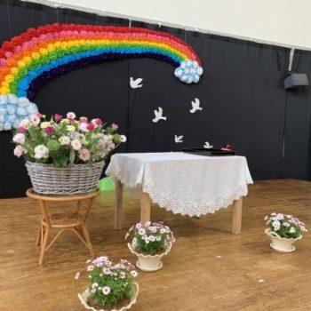 保育園の卒園式
